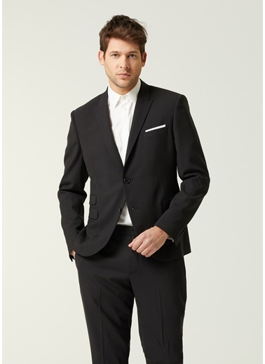 Neil Barrett Neil Barrett  Kelebek Yaka Takım Elbise 101633689 Siyah